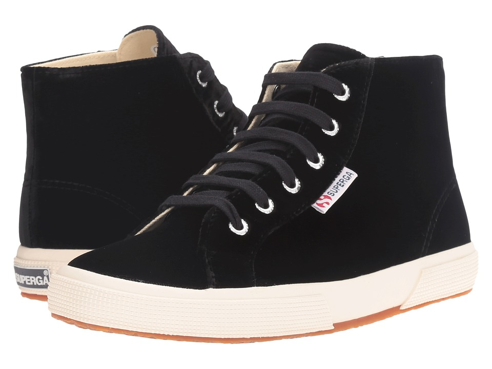 Superga - 2095 Velvetw (Black) Women