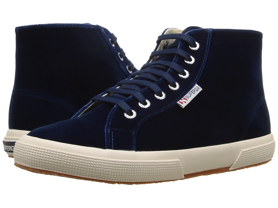 Superga - 2095 Velvetw (Blue) Women