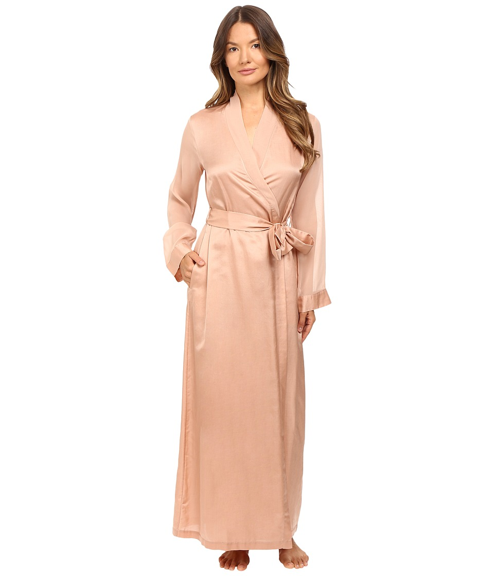 La Perla Jazz Time Long Robe (Nude) Women's Robe