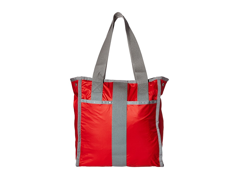 LeSportsac Luggage City Tote Classic Red Tote Handbags