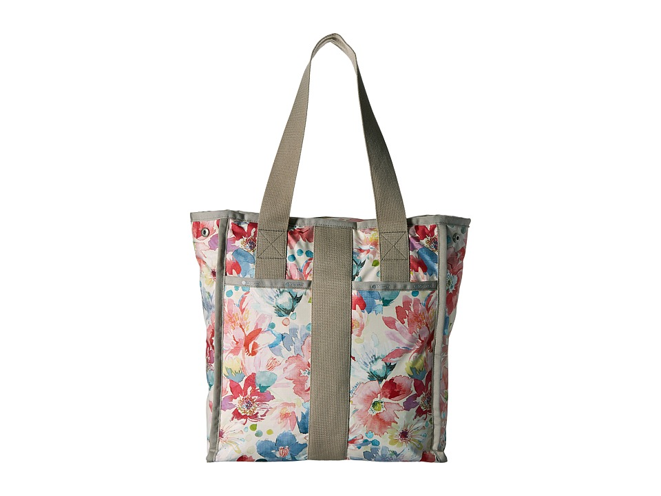 LeSportsac Luggage City Tote Waterlily Garden Tote Handbags