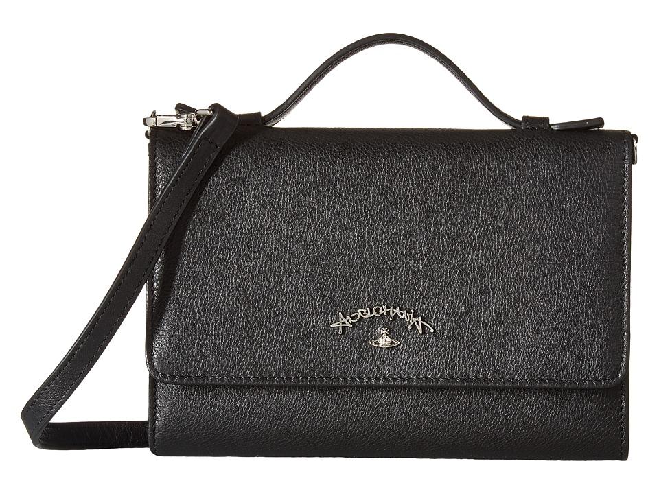 Vivienne Westwood - Miami Wallet (Black) Wallet Handbags