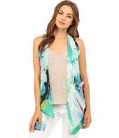 Calvin Klein - Graffiti Print Convertible Scarf Vest