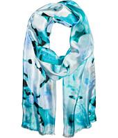Calvin Klein - Glassy Floral Silk Scarf
