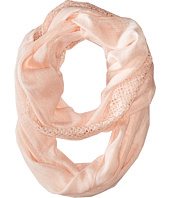 Calvin Klein - Lace Trim Infinity Scarf