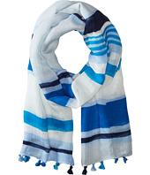 Calvin Klein - Desert Stripe Tassel Scarf