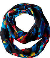 Calvin Klein - Floral Crosshatch Chiffon Infinity