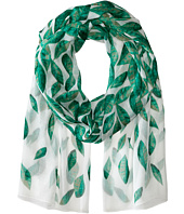Calvin Klein - Falling Leaves Crinkle Chiffon Scarf
