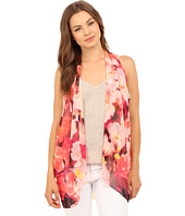 Calvin Klein - Glassy Floral Convertible Scarf Vest