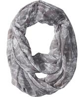 Calvin Klein - Chevron Tie-Dye Chiffon Infinity Scarf