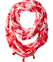 Calvin Klein - Inked Floral Infinity Scarf