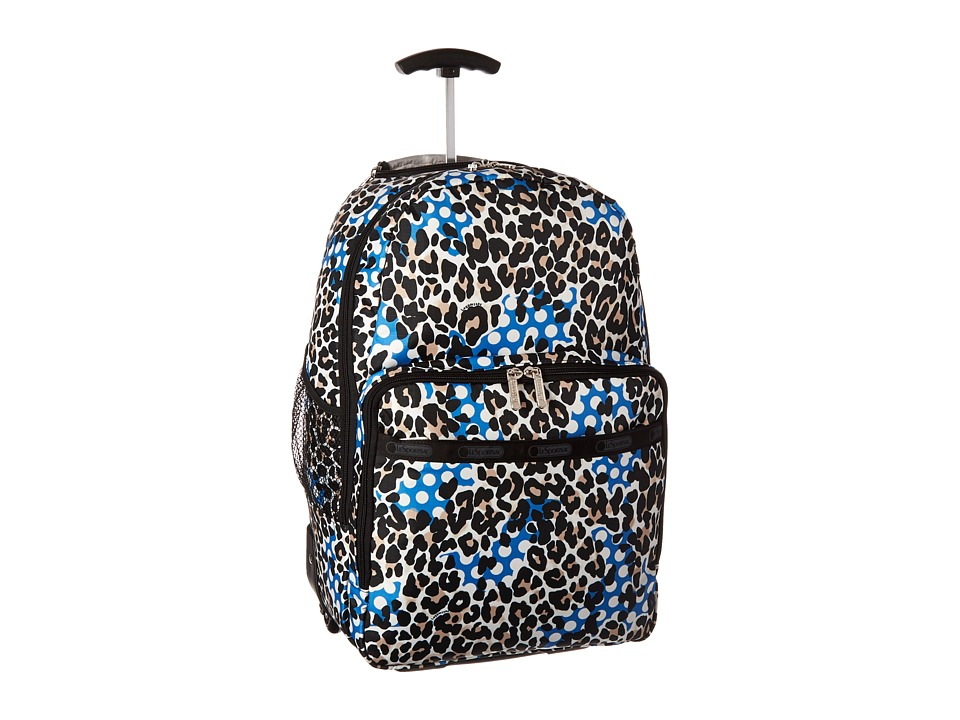 LeSportsac Luggage - Rolling Backpack (Animal Dots) Backpack Bags