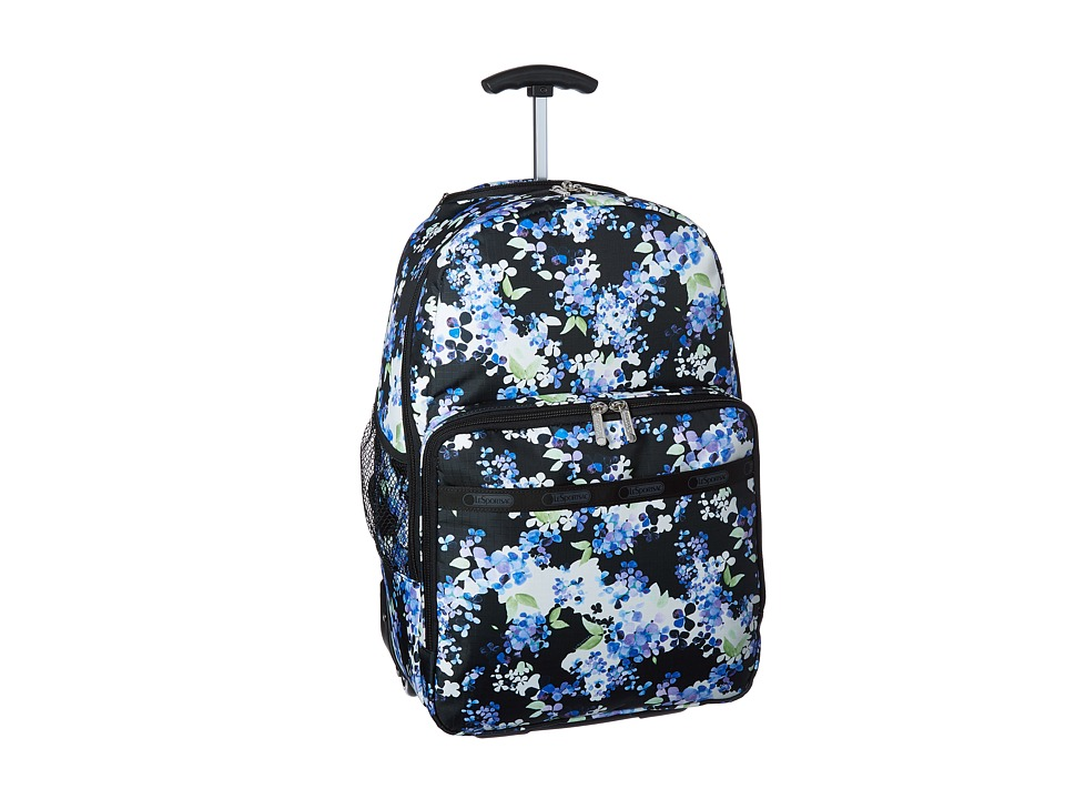 LeSportsac Luggage Rolling Backpack Flower Cluster Backpack Bags