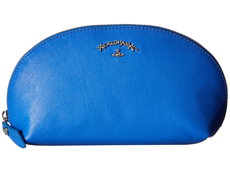 Vivienne Westwood - Miami Cosmetic Pouch (Blue) Travel Pouch