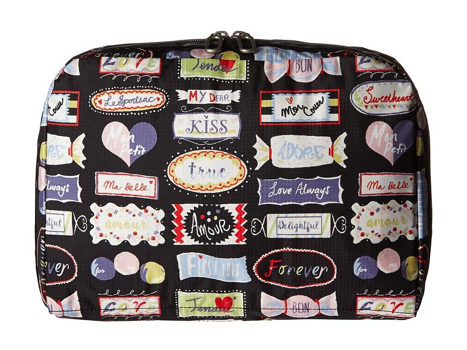 LeSportsac Luggage XL Essential Cosmetic Sweet Talk Cosmetic Case