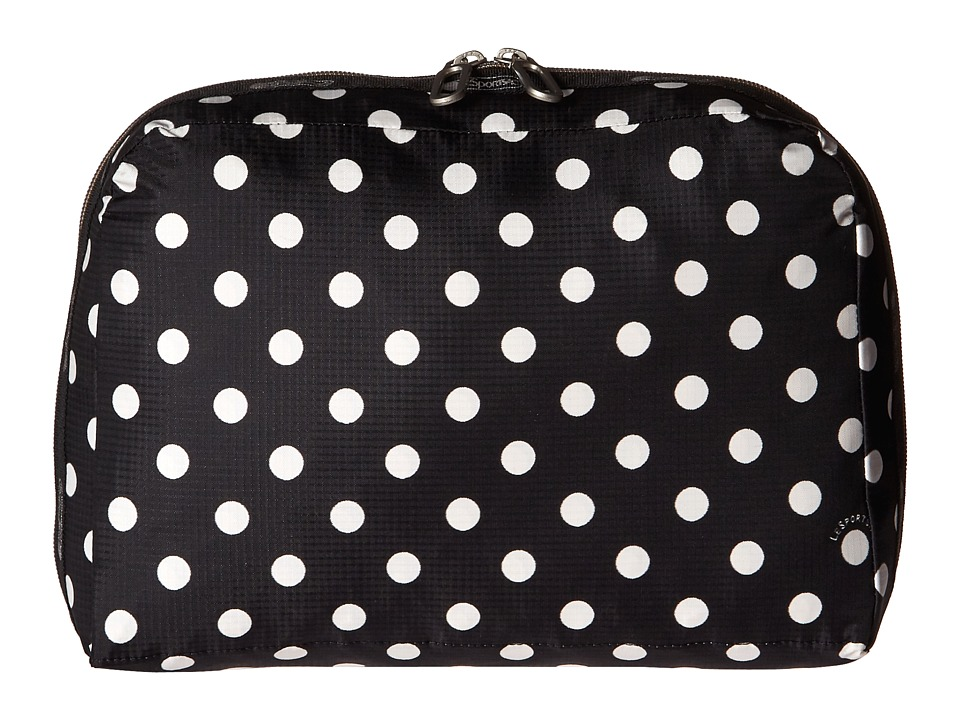 LeSportsac Luggage - XL Essential Cosmetic (Sunshine Dot Black) Cosmetic Case