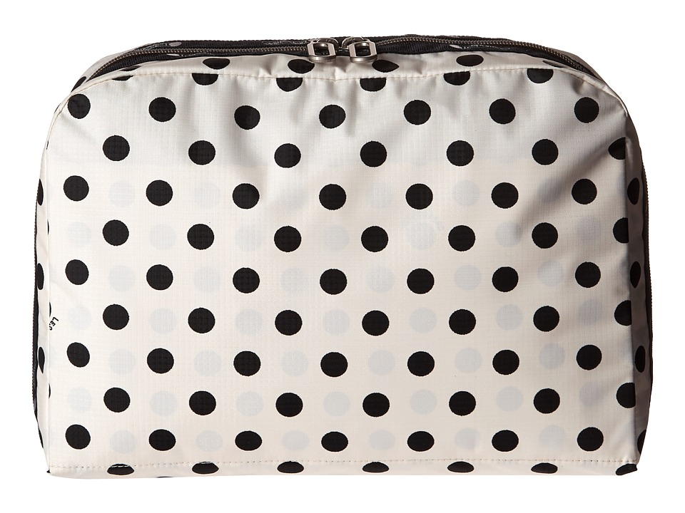 LeSportsac Luggage - XL Essential Cosmetic (Sunshine Dot Cream) Cosmetic Case