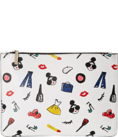 Alice + Olivia - Stacey Print Medium Zip Pouch