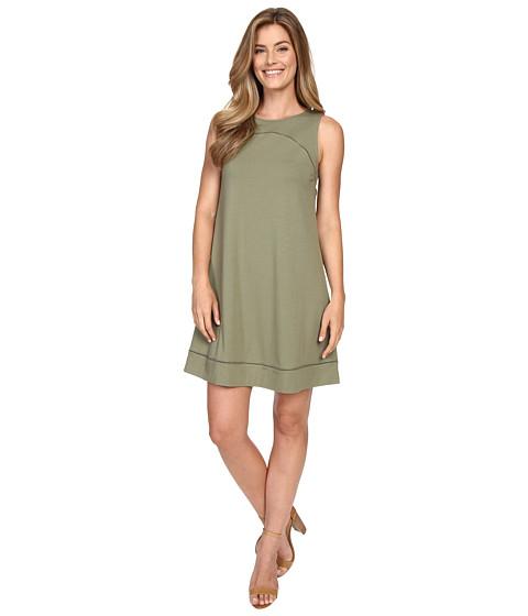 Lilla P Pima Modal Stretch Seamed Shift Dress