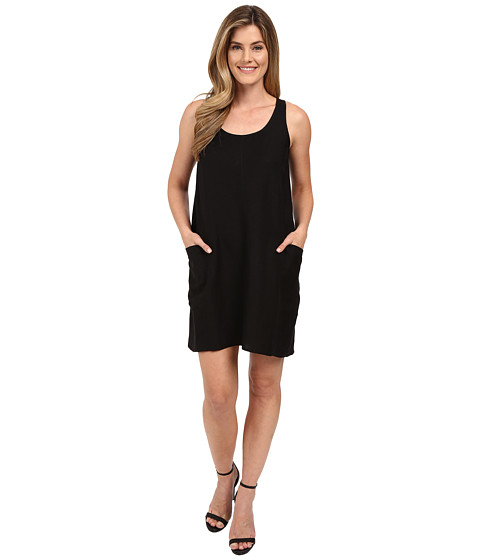 Lilla P Linen Sleeveless Pocket Dress