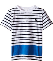 Burberry Kids - Short Sleeve Painted Stripe Tee (Little Kids/Big Kids)