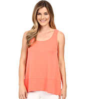 Lilla P - Fine Rib Scoop Tank Top