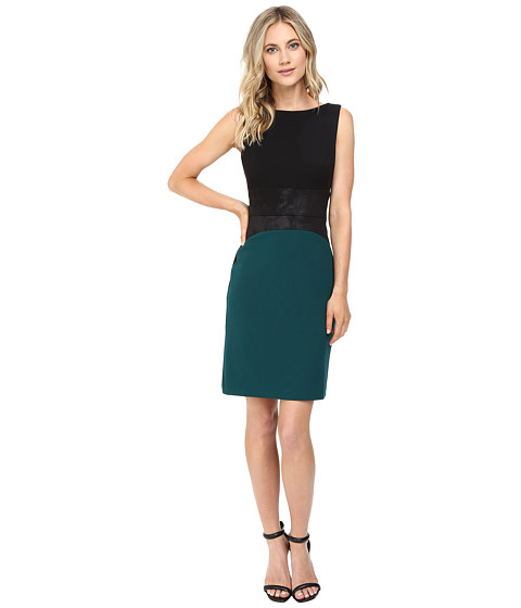 Christin Michaels Zain Color Block Dress