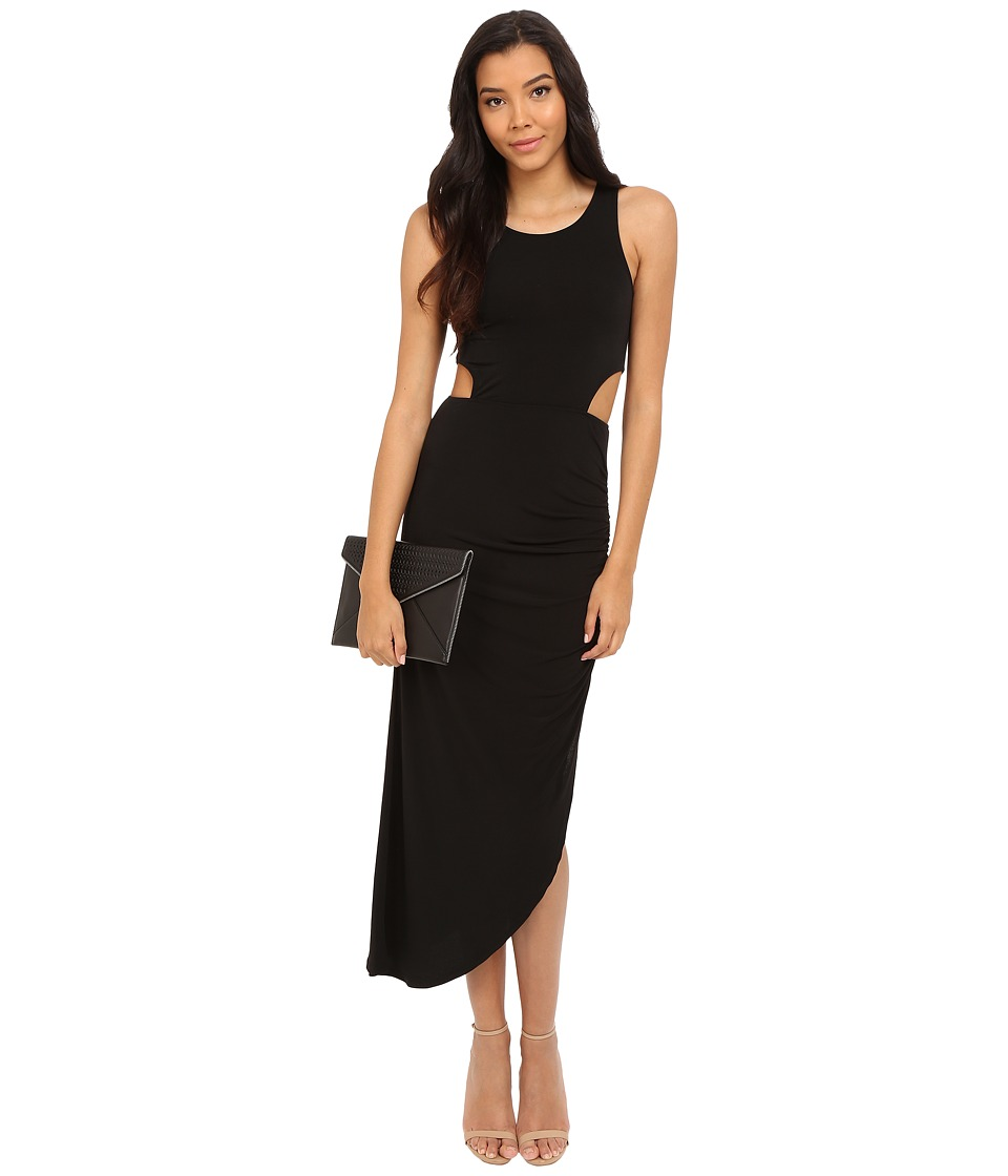 ONLY Zig Sleeveless Dress with Cut Outs Black Womens Dress
