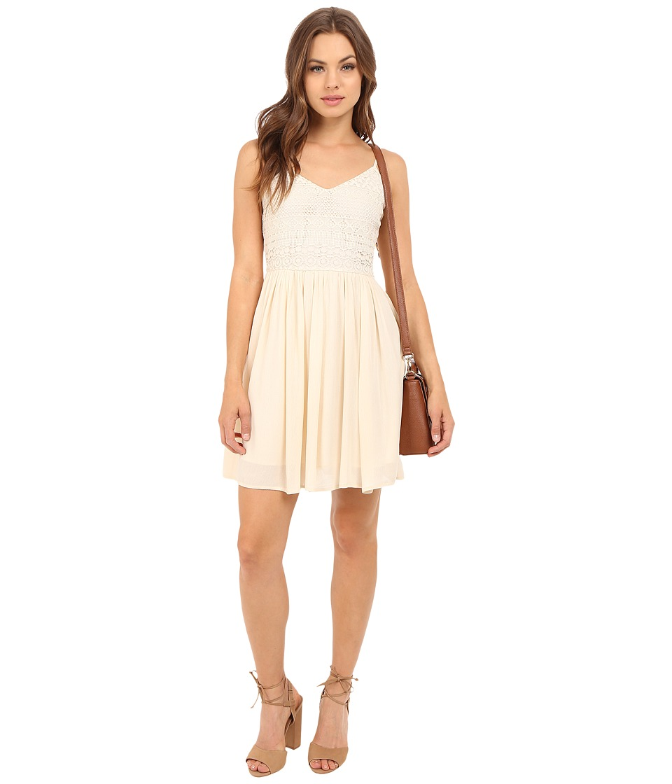 ONLY Addy Heaven Strap Dress Whitecap Gray Womens Dress