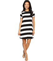 Christin Michaels - Sara Wide Strike Knit Dress