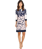Christin Michaels - Staci Floral Printed Shift Dress