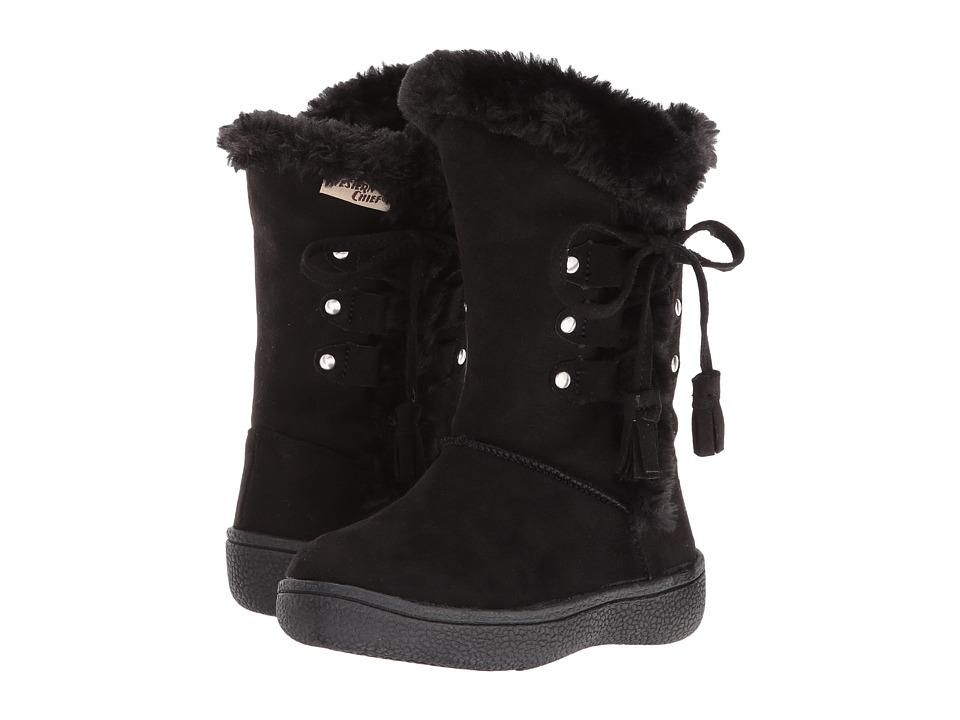Western Chief Kids Aviana (Toddler/Little Kid) (Black) Girls Shoes