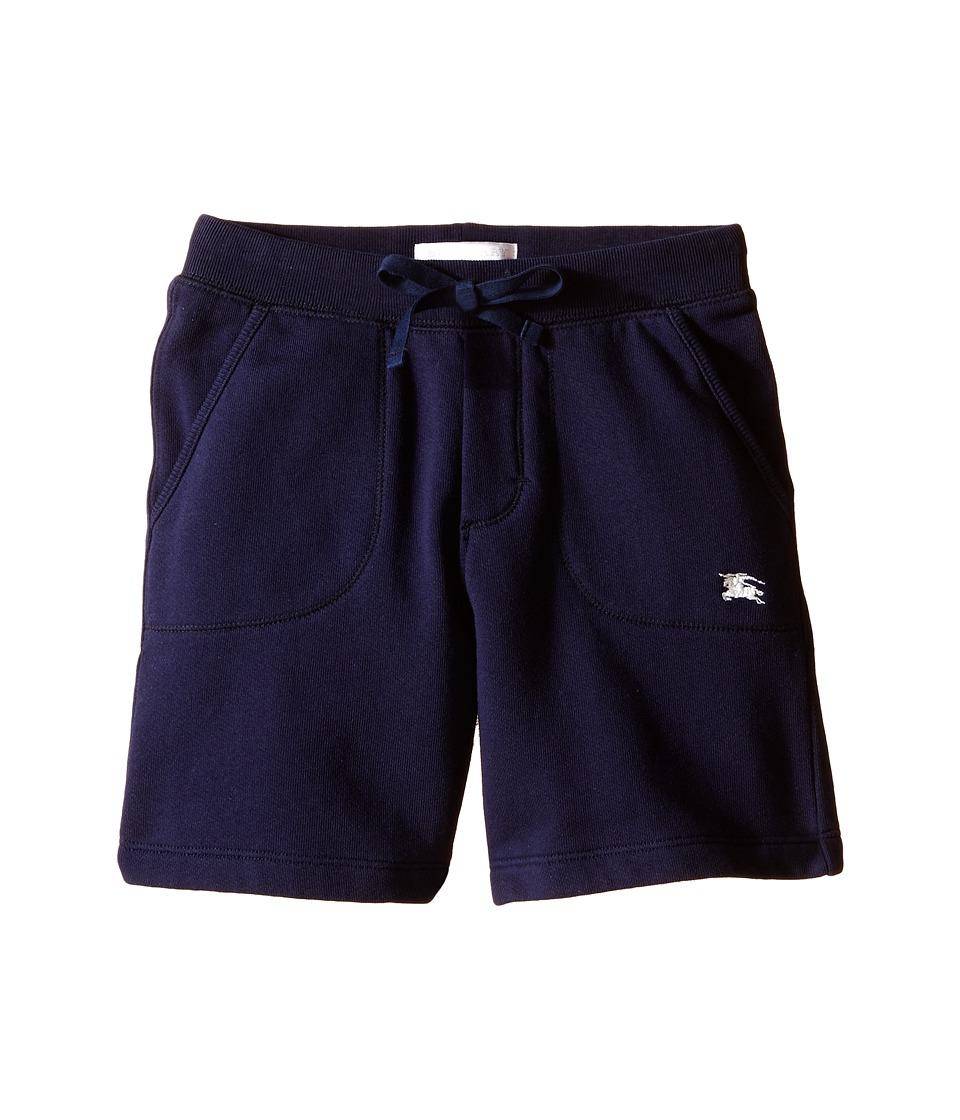 Burberry Kids Beach Sweat Shorts Little Kids/Big Kids Navy Boys Shorts