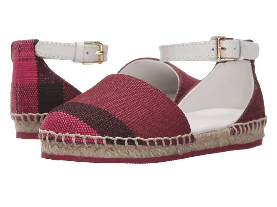 Burberry Kids Rhimes (Toddler) (Plum) Girl's Shoes