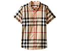 Burberry Kids Regular Fit Shirt with One Front Pocket (Little Kids/Big Kids)