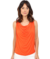 Brigitte Bailey - Drapery Front Sleeveless Tank Top