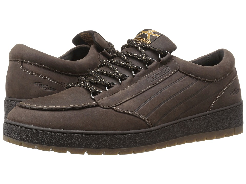 Image of Allrounder by Mephisto - Alinto (Dark Brown Waxy N) Men's Lace up casual Shoes