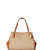 COACH - Madison Op Art Needlepoint Cafe Carryall