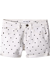 DL1961 Kids - Piper Cuffed Shorts in Starburst (Big Kids)