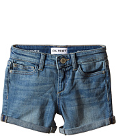 DL1961 Kids - Piper Cuffed Shorts in Granola (Toddler/Little Kids)
