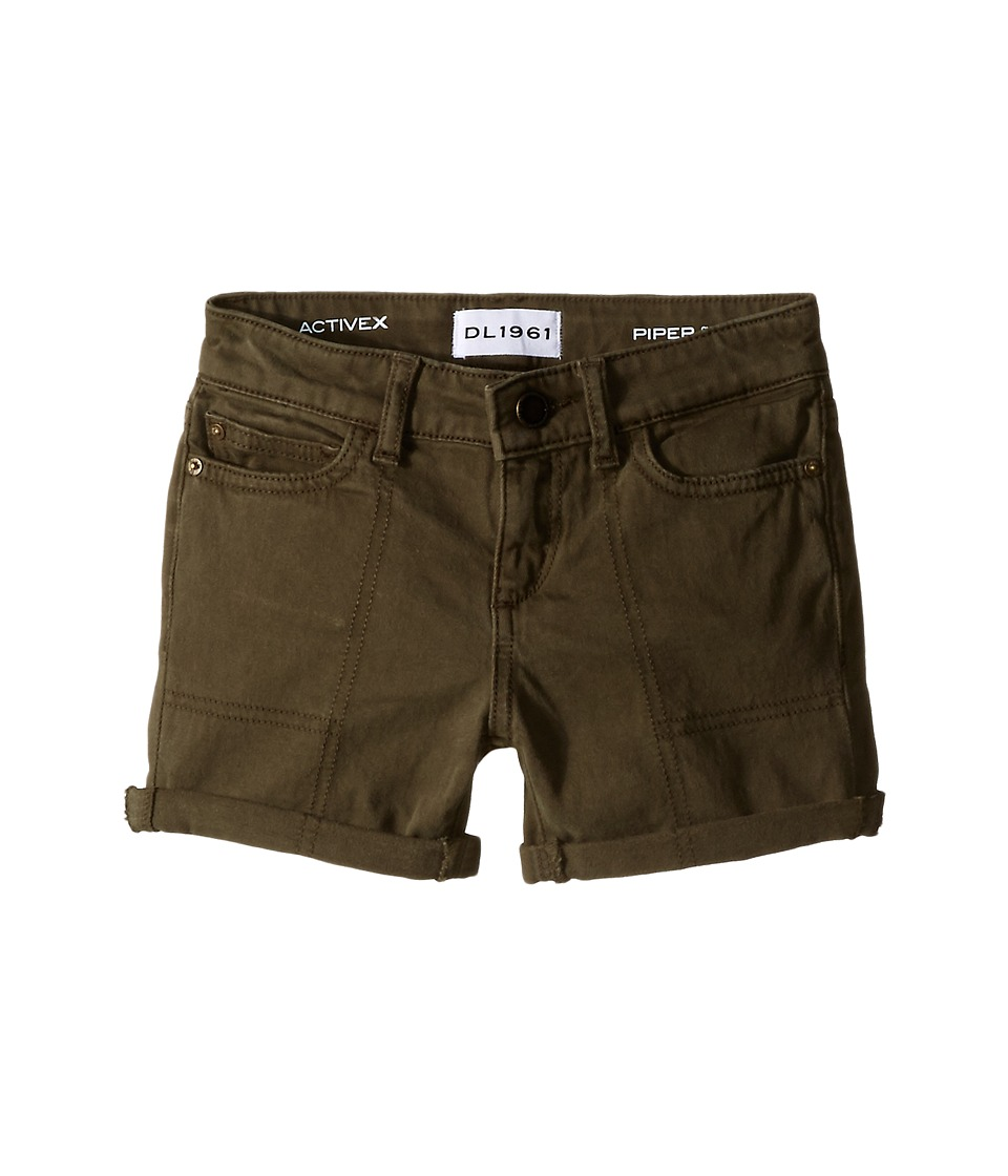 DL1961 Kids Piper Cuffed Shorts in Ranchers Toddler/Little Kids Ranchers Girls Shorts