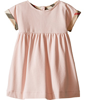 Burberry Kids - Pique Dress with Turn Back Sleeves (Infant/Toddler)