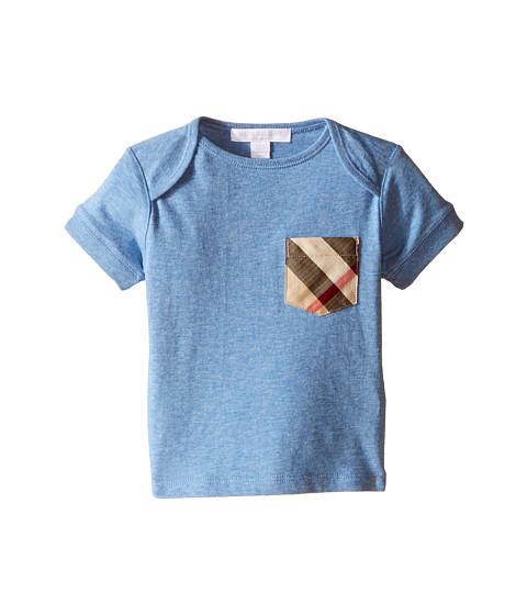 Burberry Kids Short Sleeve Tee w/ Check Pocket (Infant/Toddler)