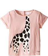 Burberry Kids - Short Sleeve Giraffe Print Tee (Infant/Toddler)