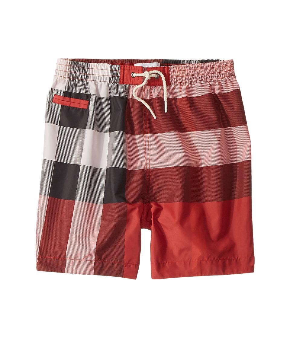 Burberry Kids - Swim Shorts (Infant/Toddler) (Parade Red) Boys Swimwear