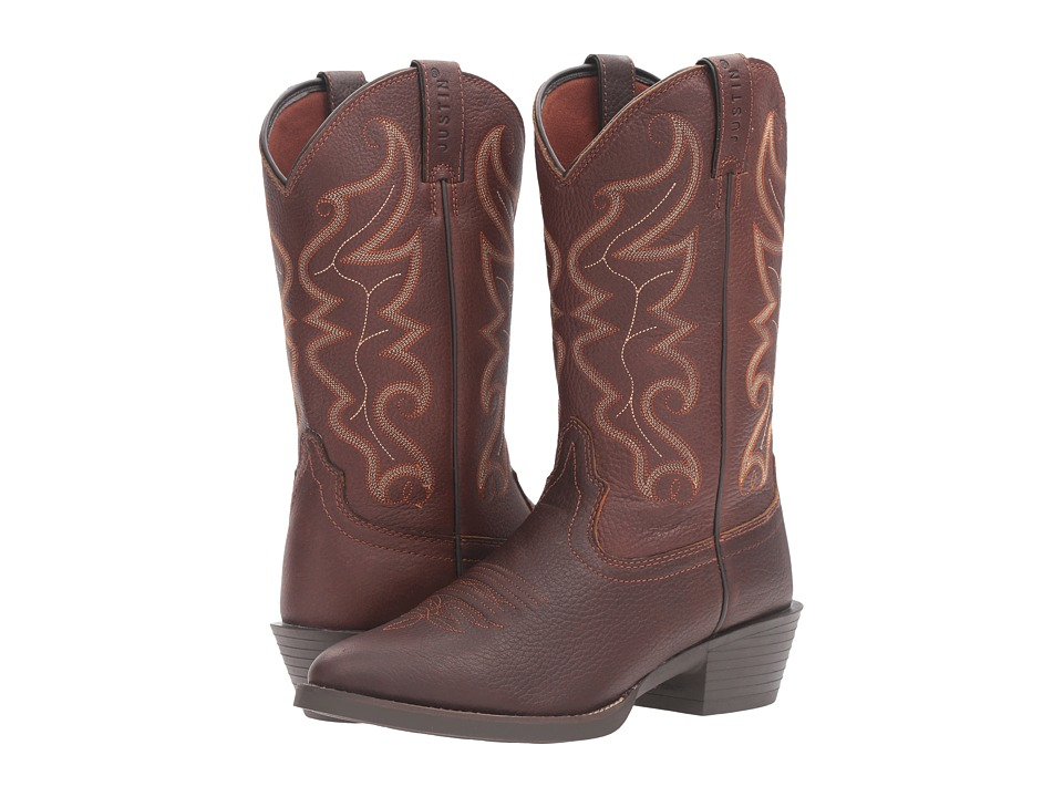 Justin - Jace (Chocolate) Cowboy Boots