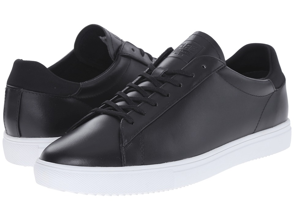 Clae Bradley Black Leather Mens Shoes
