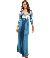 Culture Phit - Aaric Wrap Front 3/4 Sleeve Maxi Dress