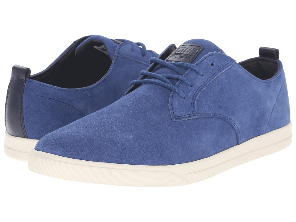 Clae Ellington Suede Midnight Suede Mens Lace up casual Shoes