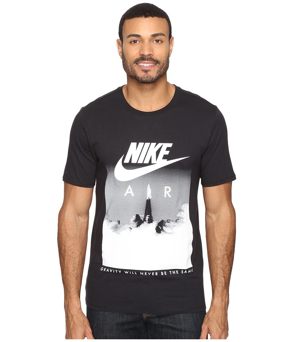 Nike Air Rocket Tee (Black/Black/White) Men